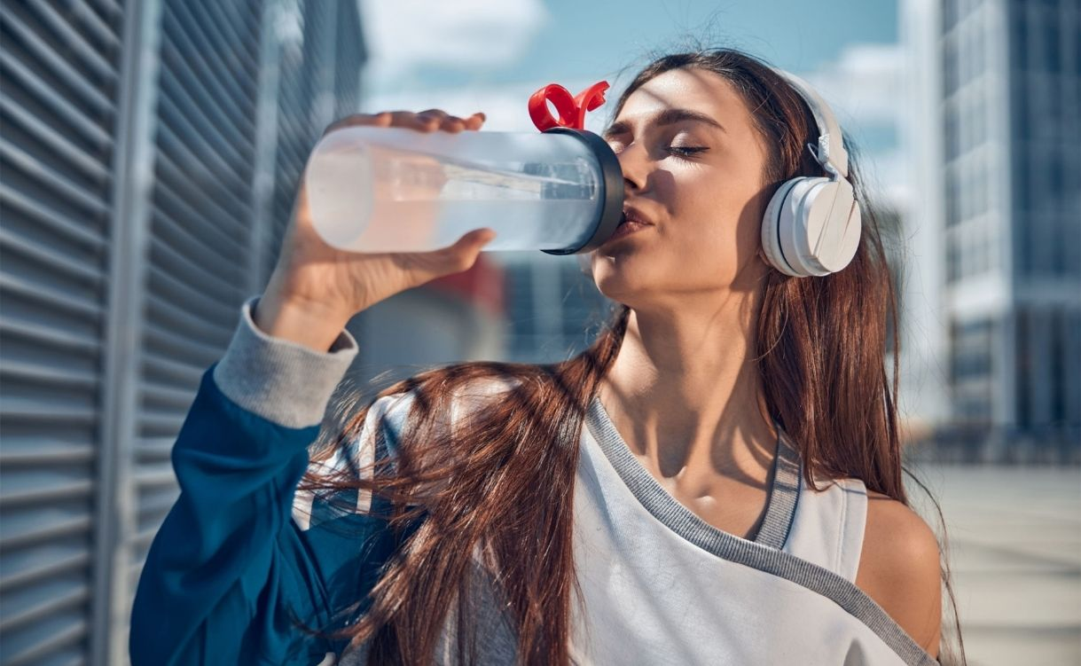 Drink more water every day