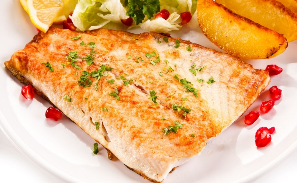 fatty fish - foods for boosting brain functions
